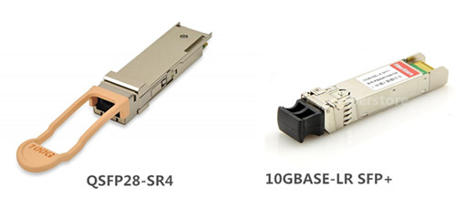 QSFP28 and SFP+