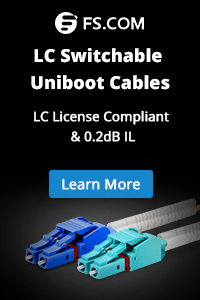 LC switchable uniboot cables