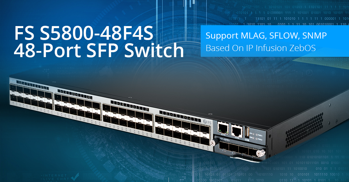 10gbe Switch 48 Ports Choose Sfp Switch Or Copper Switch