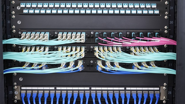 structured fiber cabling solutions for network \u0026 server rack patch panel twist and mount patch panel
