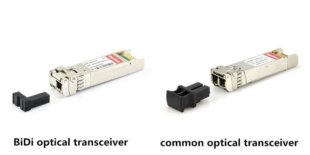 BiDi transceiver vs.general transceiver