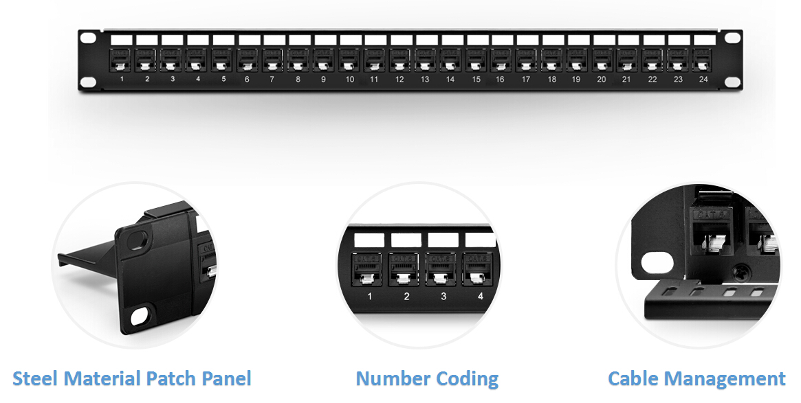 feed-through patch panel