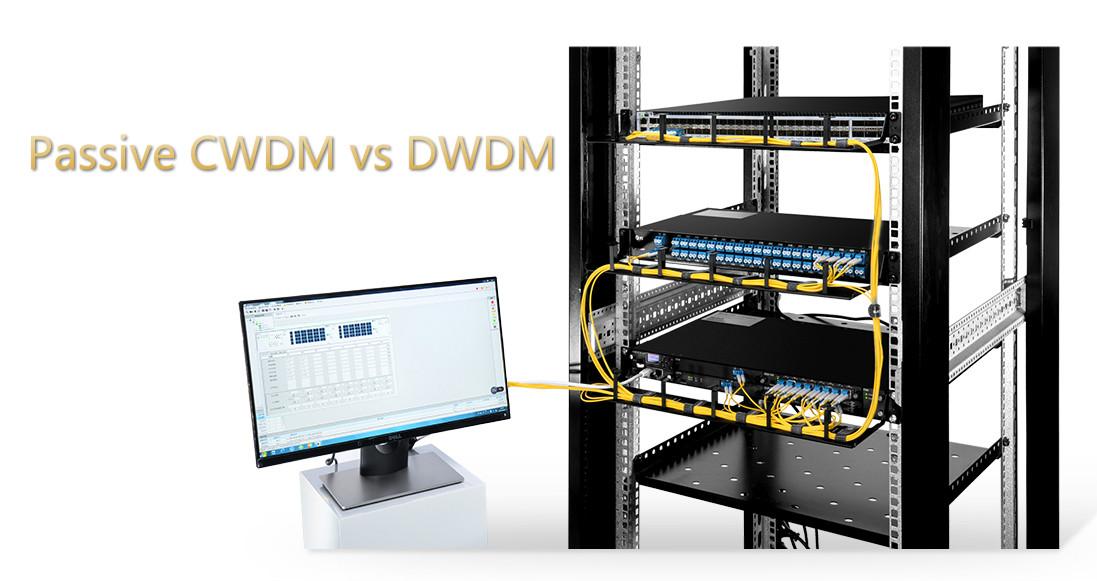 passive cwdm vs dwdm