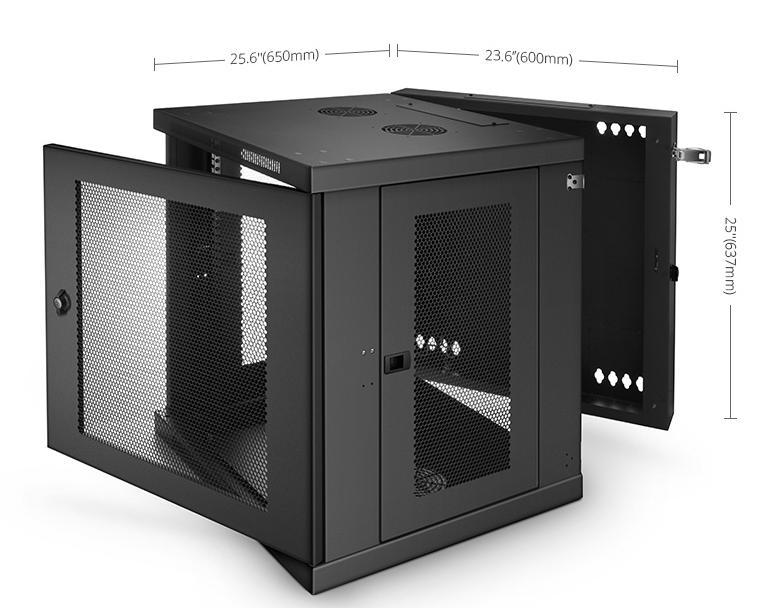 12u wall mount cabinet GV