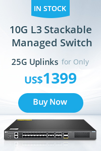 10G L3 Stackable Managed Switch